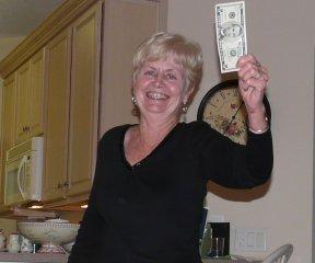 Brenda was a winner!