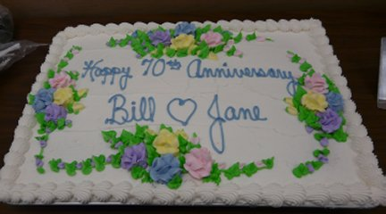 Jane and Bill's Cake