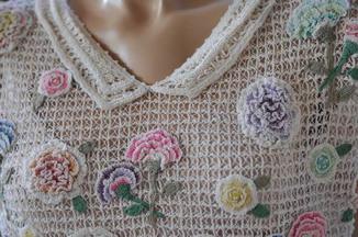 carnation vintage top